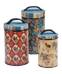 Country Kitchen International Certified International French Country Canister Set Zulily