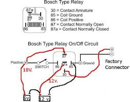 bosch 12v relay wiring diagram bosch image wiring bosch relay wiring diagram wiring diagram schematics on bosch 12v relay wiring diagram