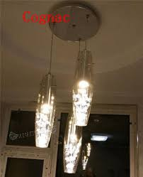 bar pendant lighting. LED Modern Glass Crystal Ceiling Light Kitchen Bar Pendant Lamp Lighting N