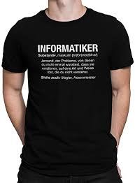 Wikipedia T Shirt Vanverden Herren Fun T Shirt Informatiker Wikipedia Job Beschreibung Plus Geschenkkarte