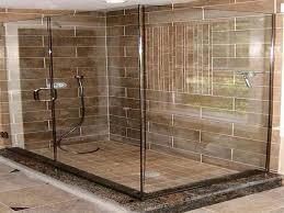 wood look porcelain tile shower designs