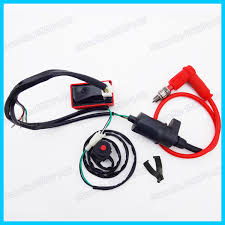 wiring loom harness kill switch racing ignition coil cdi box spark Spark Plug Harness Bar at Spark Plug Wire Harness