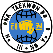Taekwondo and fist logo