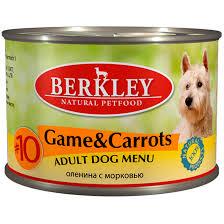 BERKLEY <b>BERKLEY № 10 ADULT</b> DOG GAME & CARROTS Adult ...