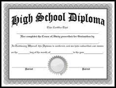 Free Printable High School Diploma Template Huge Collection Of High