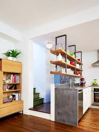 Kitchens With Open Shelving 15 Design Ideas For Kitchens Without Upper Cabinets Hgtv