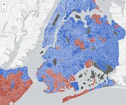 presidential elecion results did your nyc neighborhood go clinton or trump in the 2016