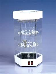 revolving acrylic jewelry display showcase led lighting perspex watch cabinet purchasing souring agent ecvv com purchasing service platform