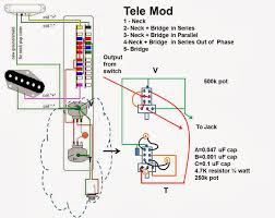 jw guitarworks telecaster project note there is a typo in the diagram capacitor b should be 0 010uf
