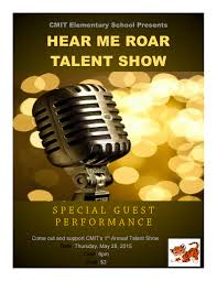 Talent Show Flyer Page 001 Cmit Elementary