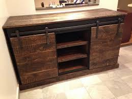 sliding door farmhouse console table barn door buffet diy sliding barn door cabinet barn door sofa table