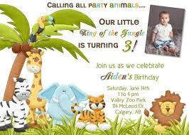 Free Printable Safari Birthday Invitations Animal Themed Party Invitations Safari Birthday Invitations Ideas