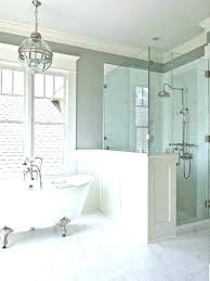 shower glass partition pony wall shower froth me froth me shower glass partition panel shower stall