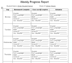 project weekly report format excellent student weekly progress report template example v m d com