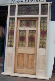 entry door stained glass replacement. regency antiques item entry door stained glass replacement c