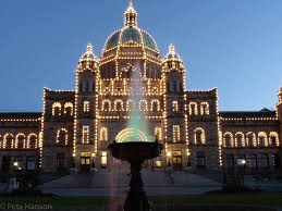 Victoria Parliament Building Lights Who Left The Lights On Victoria British Columbia Canada