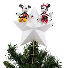 Disney Mickey And Minnie Mouse Light Up Holiday Tree Topper Product Image Of Mickey And Minnie Mouse Light Up Holiday