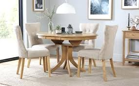 dining table and chairs round extending dining table 4 chairs set oatmeal classic dining table with