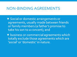 Contract And Other Agreements  Social Arrangements And Business ...