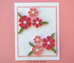 Paper Quilling Flower Bokeh Quilled Paper Flowers Quilled Flowers Card Paper