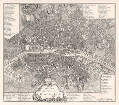 vintage paris map wallpaper antique