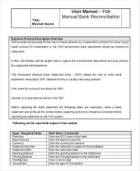 Check Reconciliation Template Bank Reconciliation Example 5 Free Word Pdf Documents Download
