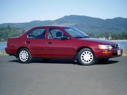 TOYOTA Corolla Sedan specs - 1992, 1993, 1994, 1995, 1996, 1997 ...