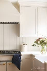 Paint Backsplash Amazing Beadboard Backsplash English Country Kitchen Style