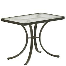 acrylic 36 inch x 24 inch rectangular dining table 1879 acrylic and glass tables tropitone