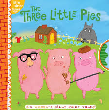 amazon the three little pigs a wheel y silly fairy tale little simon sillies 9781442421073 tina gallo kelly bryne books