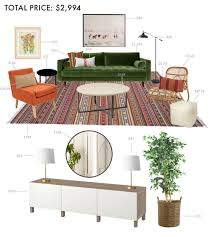 For Decorating A Living Room On A Budget Designing A Budget Living Room Emily Henderson