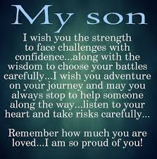Love Quotes For My Son Interesting 48 Best Mother And Son Quotes