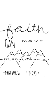 Matthew 17 20 Faith Can Move
