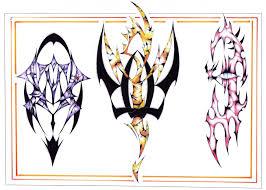 Motiv Tetování Ornamenty černobílý 190