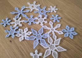 Free Snowflake Machine Embroidery Designs Mini And Micro Snowflake Freestanding Lace Embroidery