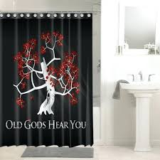 waterpro bathrooms colorful tree of life shower curtain