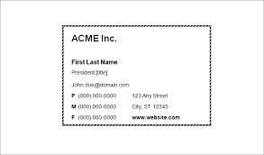 free template for business cards 44 free blank business card templates ai word psd free