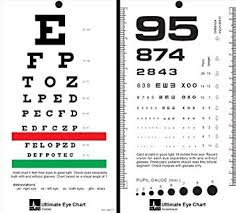 Snellen Eye Chart For Phone Mccoy Ultimate Rosenbaum Snellen Pocket Eye Chart