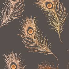 Sparkly Bedroom Wallpaper The Silver Peacock Feathers Reflect Light From The Holographic
