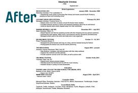 FindSpark One Page Resume Before FindSpark One Page Resume After