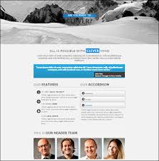 Muse Website Templates Extraordinary 48 Brilliant Premium And Free Adobe Muse Templates For 48