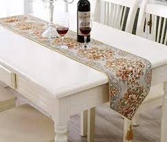 table runner bluetop classic luxury