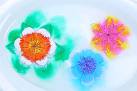 Paper Flower Images A Paper Flower For Kids To Make Magical Water Blossoms Babble