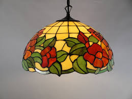 stained glass lights ceiling photo 1