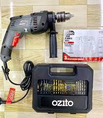 Bộ khoan điện Ozito,... - Máy khoan pin Ozito - Ryobi - A.E.G
