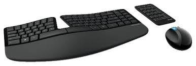 Клавиатура и мышь <b>Microsoft Sculpt Ergonomic</b> Desktop Black USB