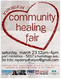 Community Healing Fair hosted by State Rep Sonya Harper | R.A.G.E.