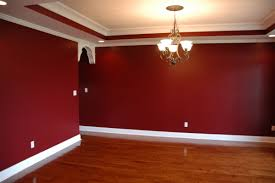 How To Stencil A Wall Dining Room Project Drama And Room - Dining room red paint ideas
