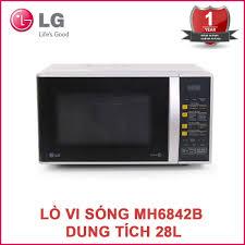 Lò vi sóng điện tử LG MH6842B dung tích 28 lít - Bảo hành 12 tháng -  1,659,000