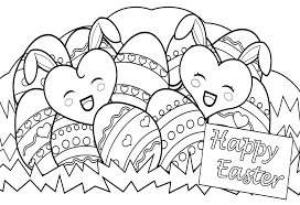 Easter Coloring Pages Difficult Celebrations Happy Easter Coloring